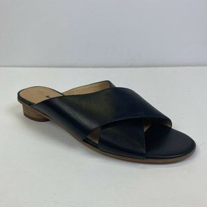 Madewell Ruthie Slides Sandals Shoes in Black